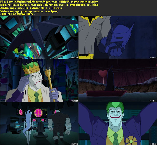 Descargar Batman Unlimited: Monster Mayhem Latino por MEGA.