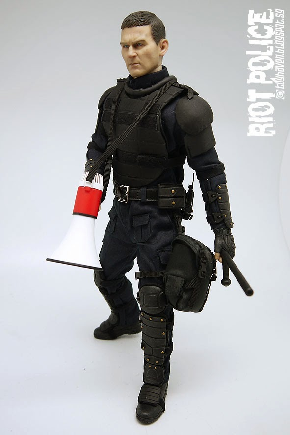 1//6 Scale US Riot Police Mason Male Base Body w//Head Sculpt /& Extra Hands