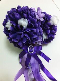 mor gelin buketi gelin çiçeği satın al