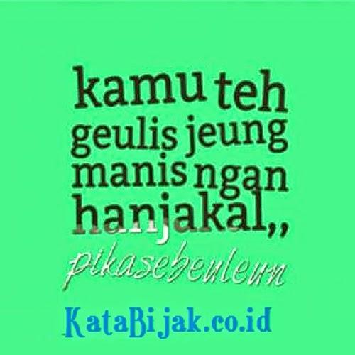 Gambar DP BBM Lucu Bahasa Sunda Terbaru  Kata Talita