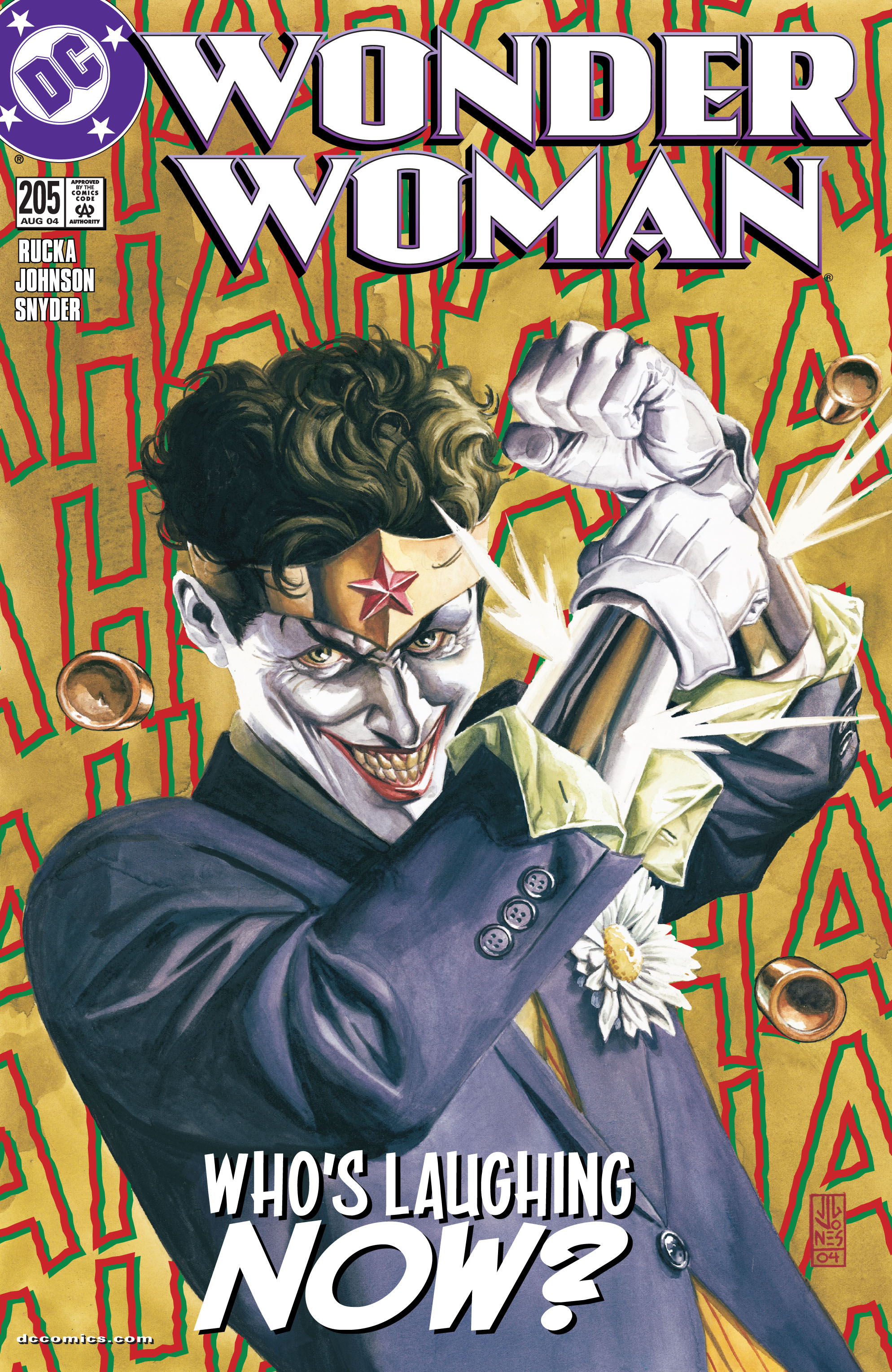 Read online Wonder Woman (1987) comic -  Issue #205 - 1