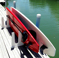 outdoor SUP rack for docks and piers