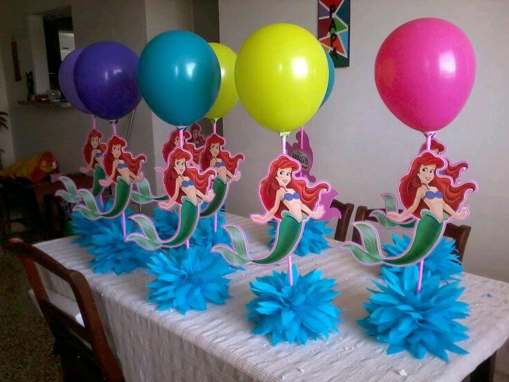 M s y m s manualidades crea bellos centros de mesa con globos - Adornos globos economicos ...