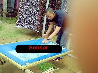 Seragam batik solo printing kalinggo batik film plangkan printing