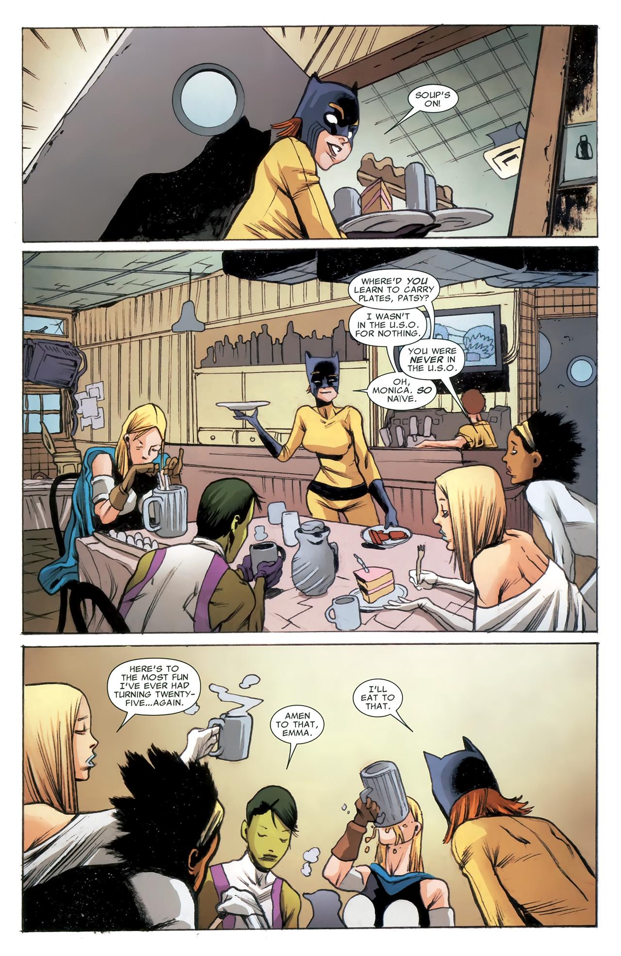 Read online Heralds comic -  Issue #2 - 11
