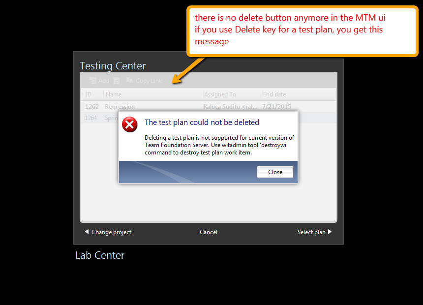 Raluca's Quality Assurance and Software Testing: Deleting