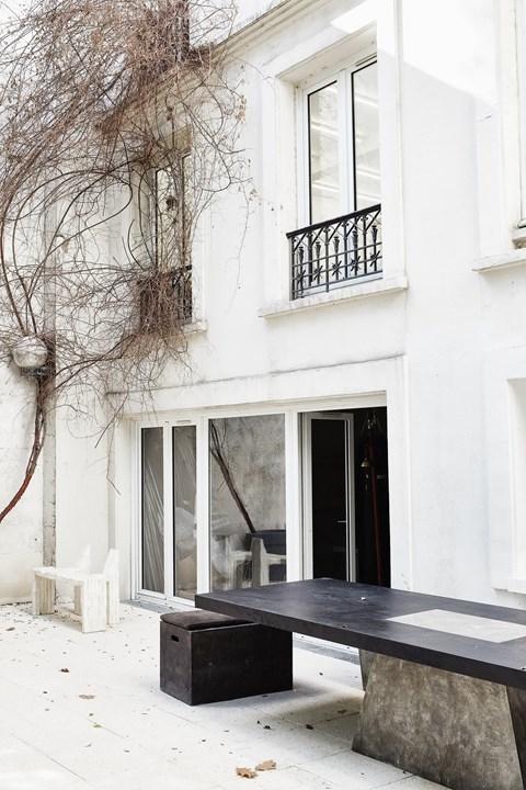 vosgesparis the world of rick owens interiors. Black Bedroom Furniture Sets. Home Design Ideas