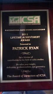 Lifetime Achievement Award - Patrick L. Ryan