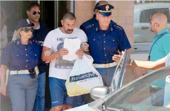 italian thug beat up nigerian italy