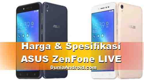 Harga HP ASUS Zenfone Live Terbaru (ZB501KL)