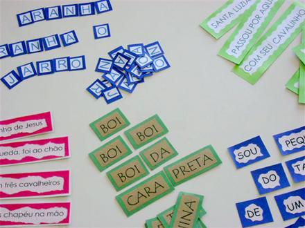 Jogos De Alfabetizacao Com Trava Linguas Pra Gente Miuda