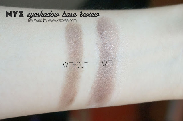 NYX review, NYX bahasa Indonesia review, NYX Eye shadow base review, NYX Review Indonesia, NYX Eye shadow review before after