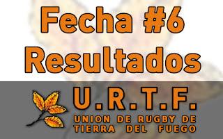[URTF] Resultados Fecha #6 - Torneo Inicial 2016