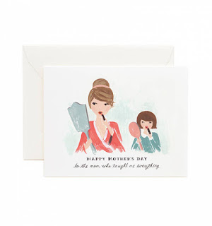 Mother's Day Gift Guide Rifle Paper Co. Mother's Day Greeting Card