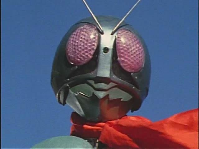 The center of anime and toku: Rare Kamen Rider (1971) Philippine English Dub Footage