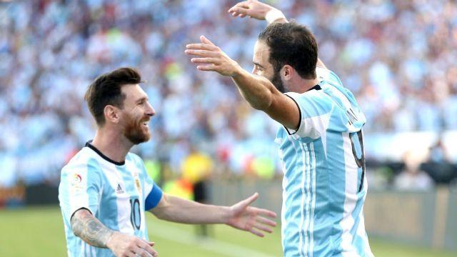Balbo Berharap Higuain Berduet Dengan Messi di Piala Dunia