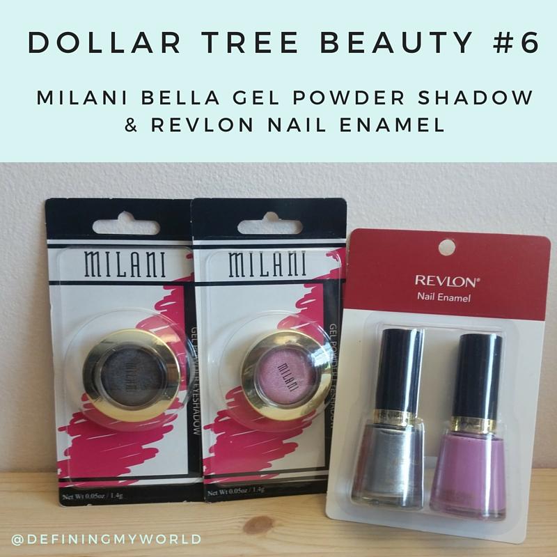 Dollar Tree Beauty #6 - Milani Bella Gel Powder Eyeshadow & Revlon ...