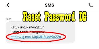 Cara Mengatasi Lupa Kata Sandi / Password Akun Instagram