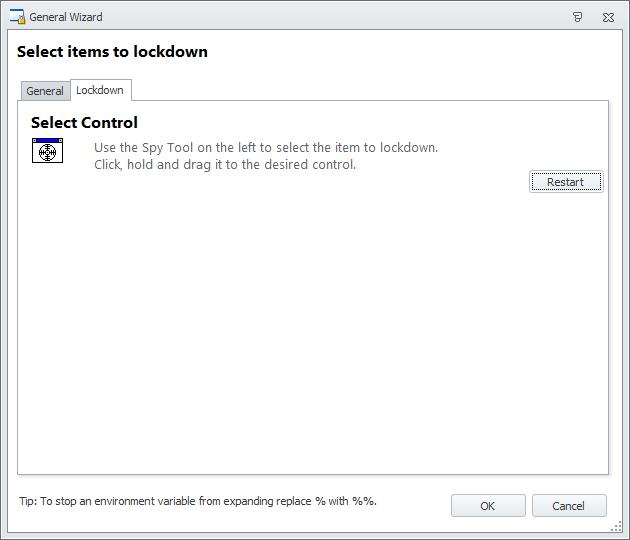 AppSense Environment Manager General Lockdown items - HTG | Howell