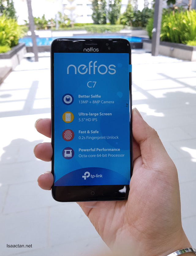 TP-Link Neffos C7 Smartphone Review