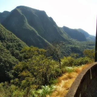 Serra do Rio do Rastro Vista de Refúgio na Estrada