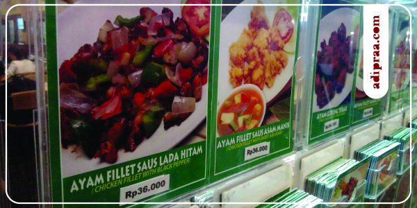 Menu Ayam Fillet Saus Lada Hitam (36K) | adipraa.com