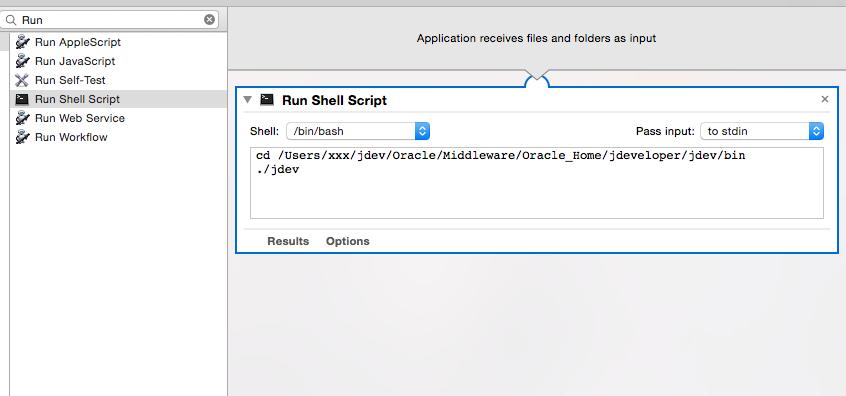 MANISH RUNGTA: Shortcut to launch jdeveloper on Mac OS X