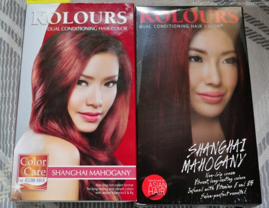 Kolours Dual Conditioning Hair Color in Shanghai Mahogany Review