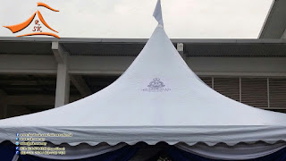 Our client from (PDRM) have requested to setup a arabian canopy. This was sponsored by Phua Chin How Enterpricse and KA Petra Sdn Bhd to PDRM Shah Alam.  #arabiancanopy #canopy #hightopkanopi #PDRM #PDRMShahalam#shahalam #readymadescallop #scallop #logo #pdrmlogo