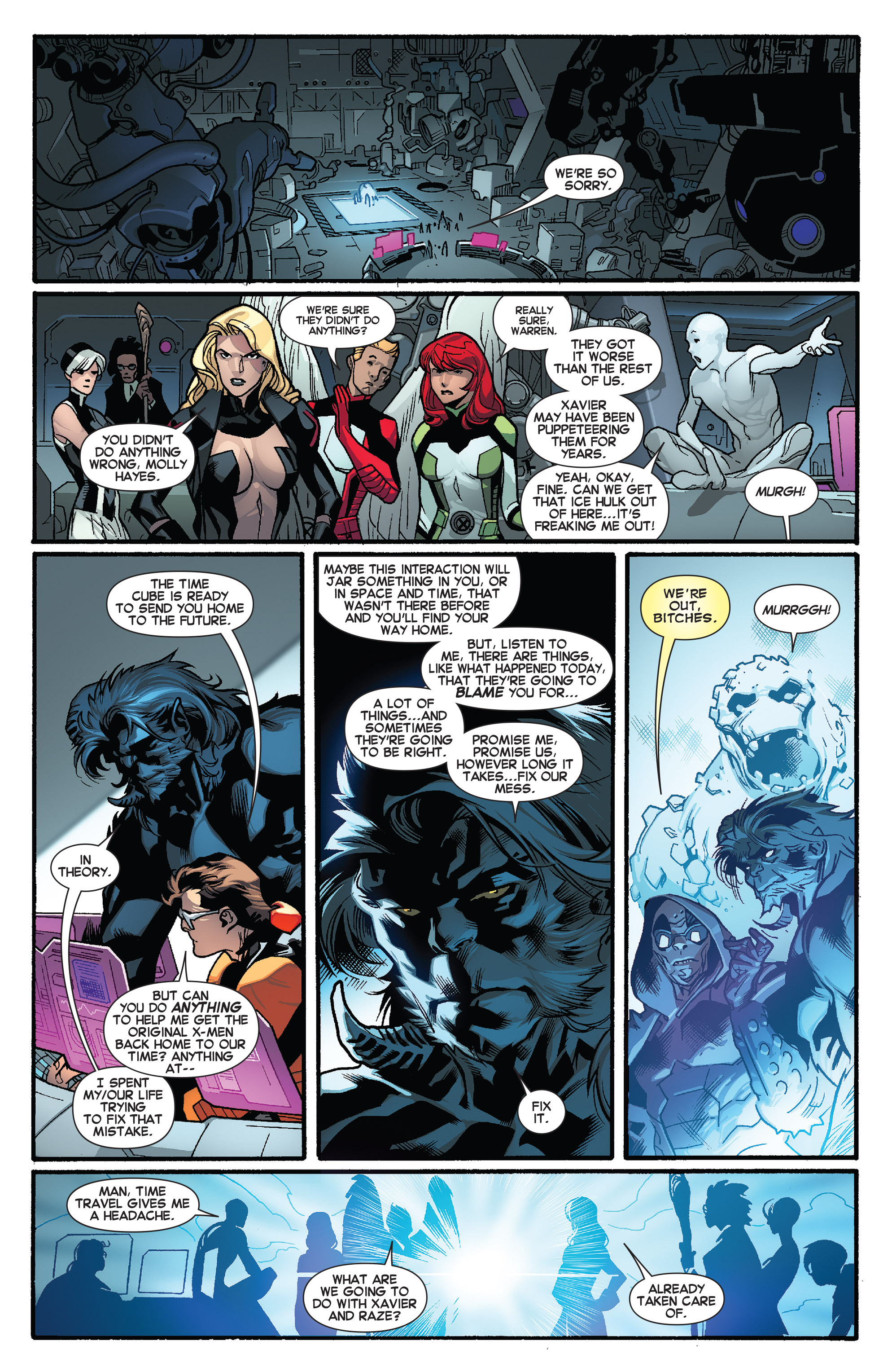 Read online All-New X-Men (2013) comic -  Issue # _Special - One Down - 99