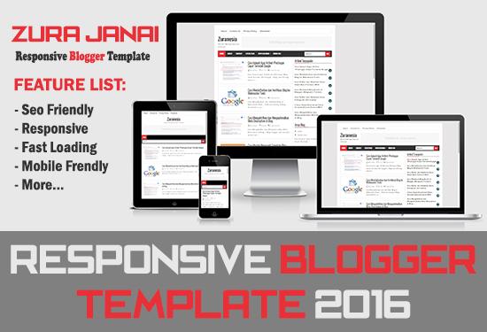 Zura Janai – SEO Fast Responsive Blogger Template