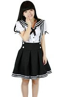 school uniform costume anime