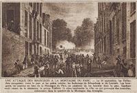Gevechten op het hoogste punt van het park van Brussel op 24 september 1830