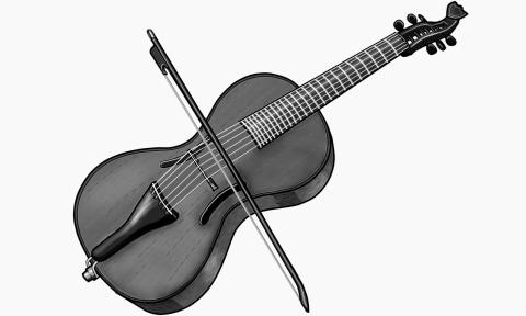Arpeggione:European period instrument