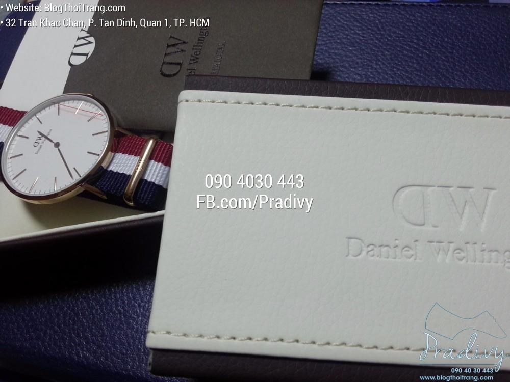 Đồng hồ Daniel Wellington chính hãng luôn đầy đủ hộp và phụ kiện