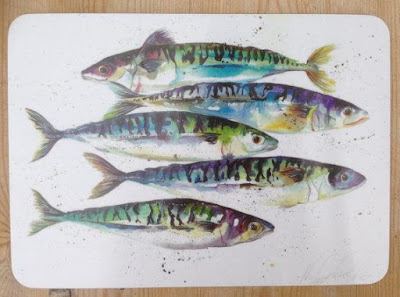 Mackerel Fish Placemat