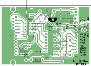 bufferd JTAG PCB