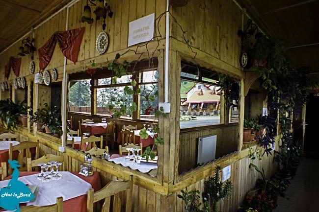 restaurant cabana muntele rosu