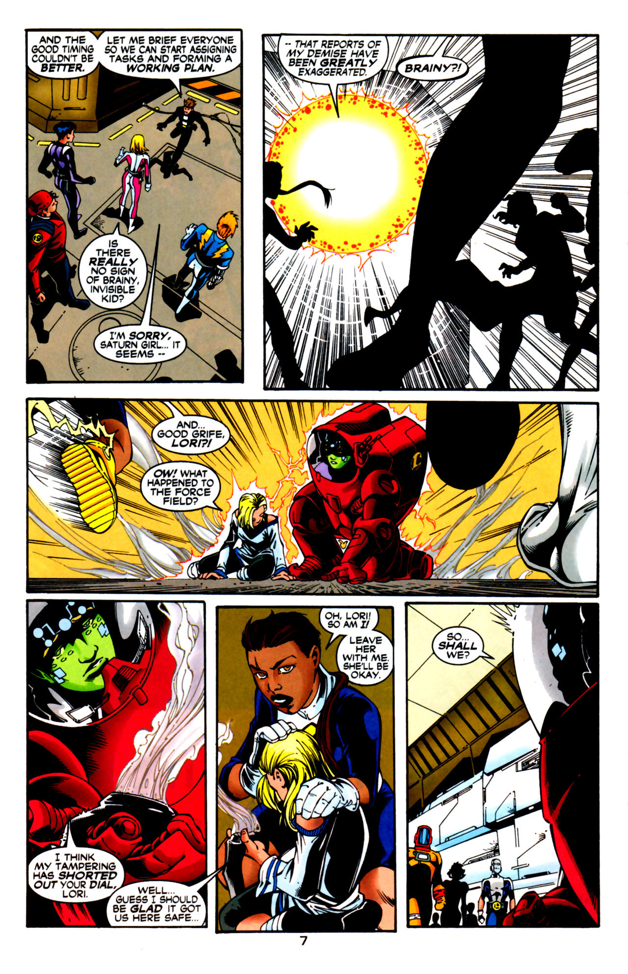 Legion of Super-Heroes (1989) 125 Page 7