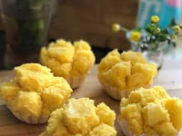 Resep Bolu Kukus Labu Kuning Lembut