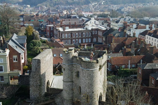 lewes sussex castle château
