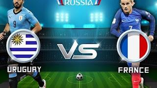 مشاهدة مباراة فرنسا وأوروغواي بث مباشر France vs Uruguay اليوم 6-7-2018 دور ال8 كاس العالم
