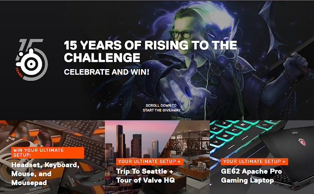 Steelseries Massive $40,000 Giveaway Inwards Prizes!