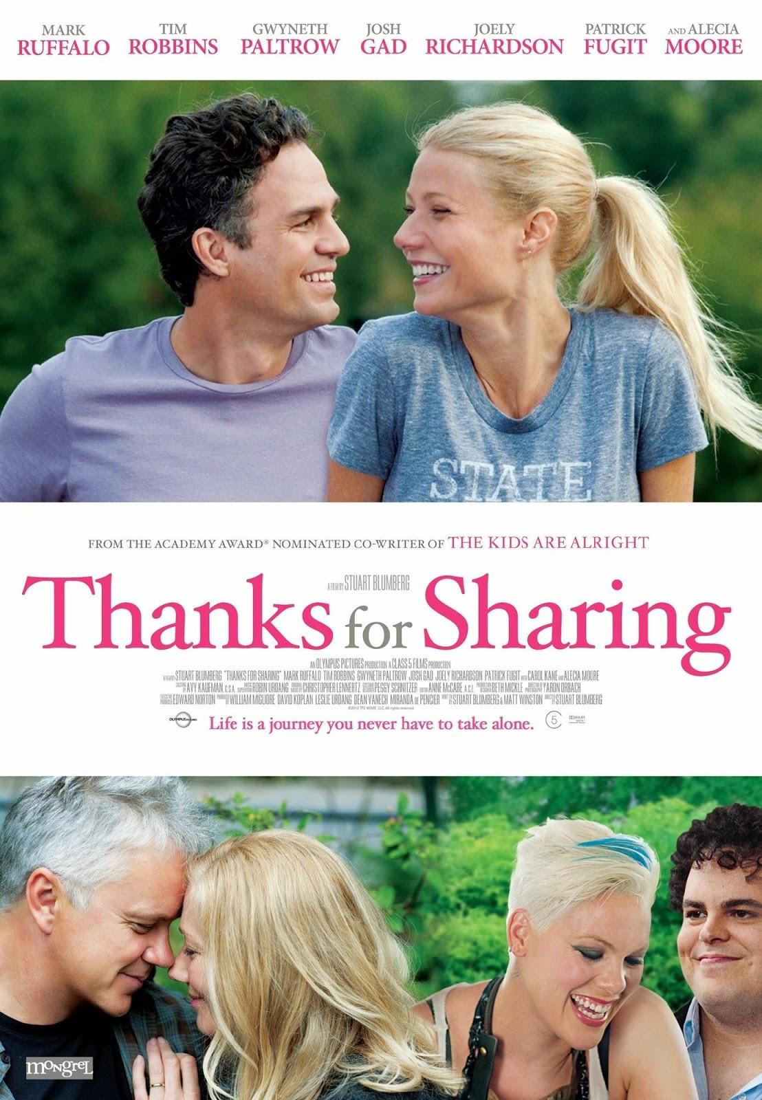 Thanks For Sharing Film