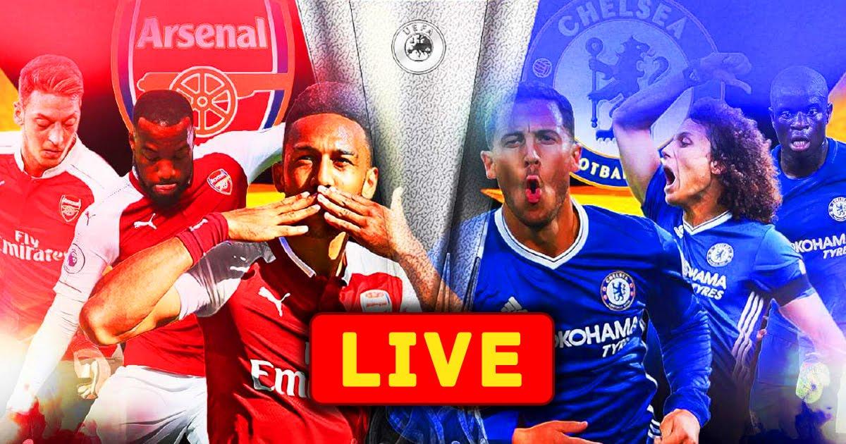 Chelsea vs Arsenal UEFA Europa League Final