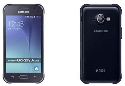 Gambar Samsung Galaxy J1 Ace warna hitam