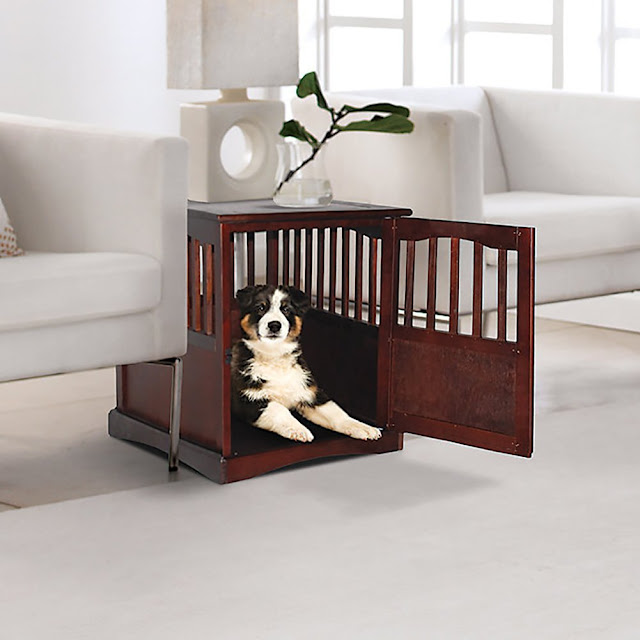 These 6 Pieces Of Colorful Furniture Are Absolute Must Haves: Dog Crates That Look Like Furniture Pieces