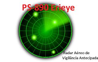 PS-890 Erieye Radar Aéreo de Vigilância Antecipada