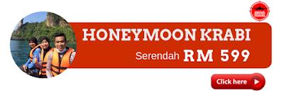Pakej Honeymoon Krabi