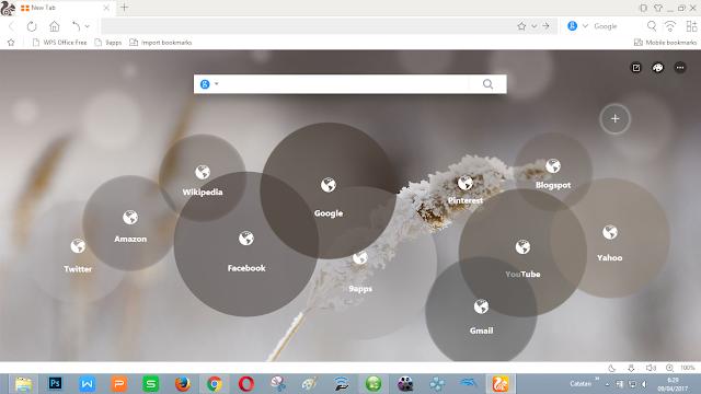browser pendatang baru yang mampu bersaing dengan browser unggulan lainnya